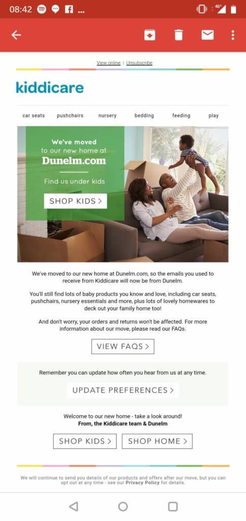 kiddicare email